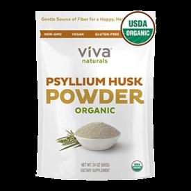 Viva Naturals Organic Psyllium Husk Powder