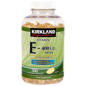 Kirkland Vitamin E Softgels