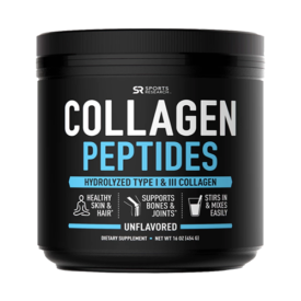 Sports Research Collagen Peptides Powder