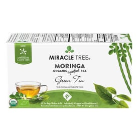 Miracle Tree Moringa Green Tea