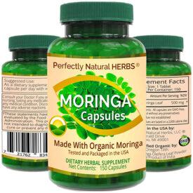 Perfectly Natural Herbs Moringa Capsules