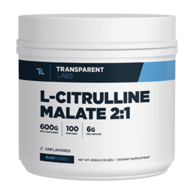 Transparent Labs RawSeries L-Citrulline Malate 2:1