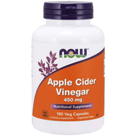 NOW Supplements Apple Cider Vinegar Capsules