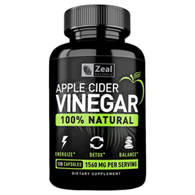 Zeal 100% Natural Apple Cider Vinegar Pills