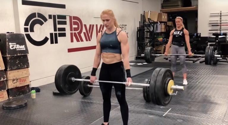 Annie Thorrisdottir 20.3 Score