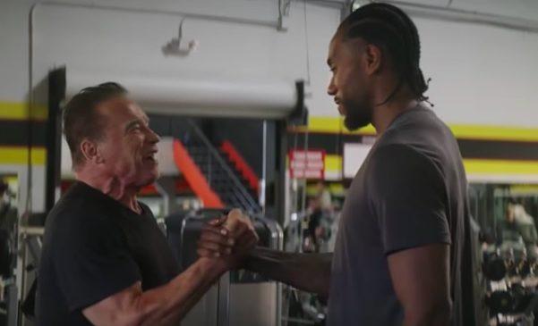Arnold and Kawhi