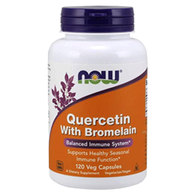 NOW Supplements Quercetin with Bromelain