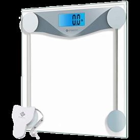 Etekcity Clear Digital Bathroom Scale