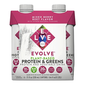 Evolve Plant-Based Protein & Greens Drink