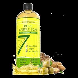 Seven Minerals Pure Castile Soap
