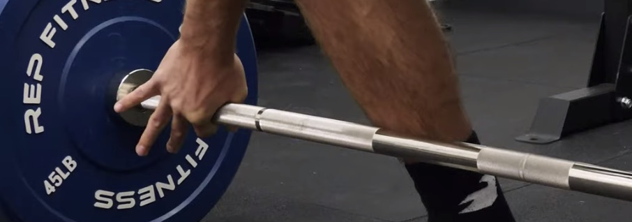 Incorrect Snatch Grip Deadlift