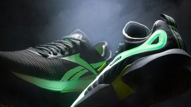 Reebok Glow In the Dark Shoes