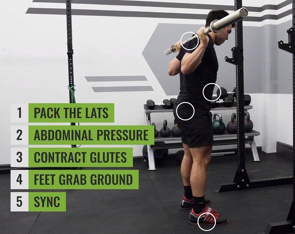 Squat Bracing