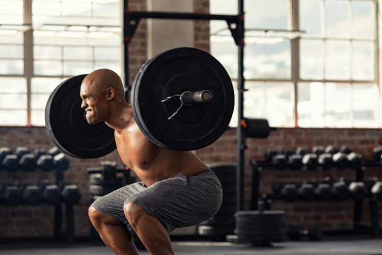 20 rep squats