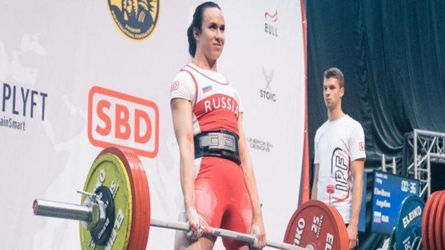 Russian Powerlifter Angelina Elovikova