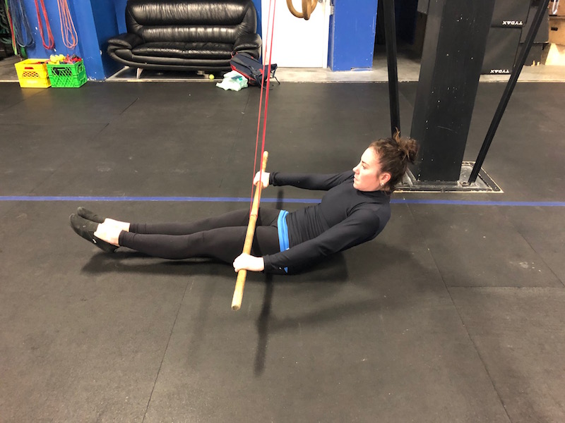 Banded Lat Activation with Core Engagement