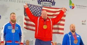 Blaine Sumner First Place IPF World Open Championship