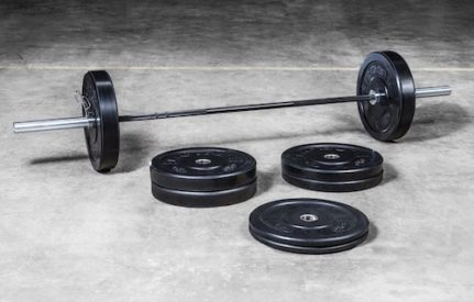 Bravo Bar & Bumper Plate Set