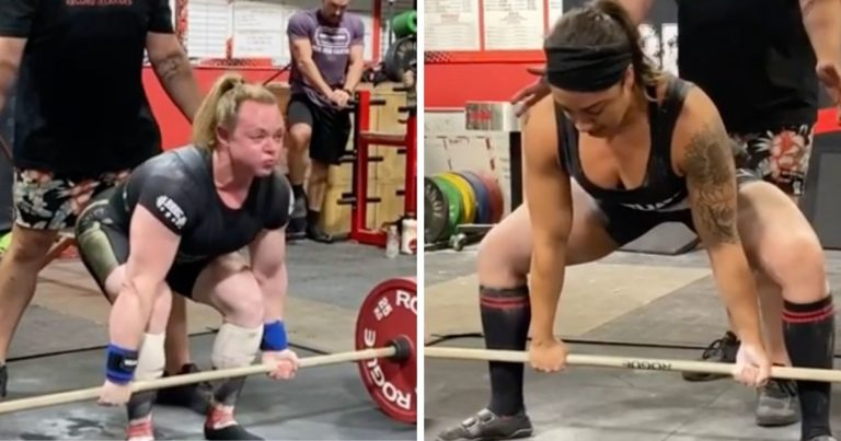 The Epic Deadlift Battle Between Kristy Hawkins and Brianny Terry, World Record Broken 3-Times