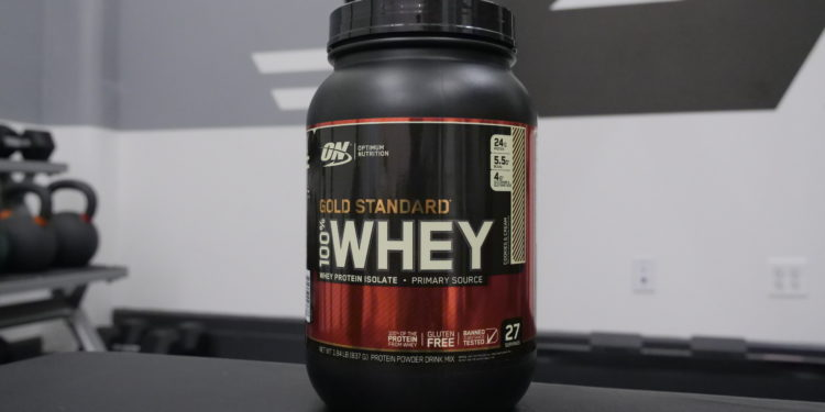 Optimum Nutrition Gold Standard Whey cookies and cream