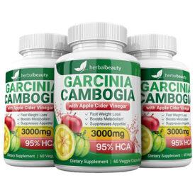 Pure Garcinia Cambogia Extract & Apple Cider Vinegar