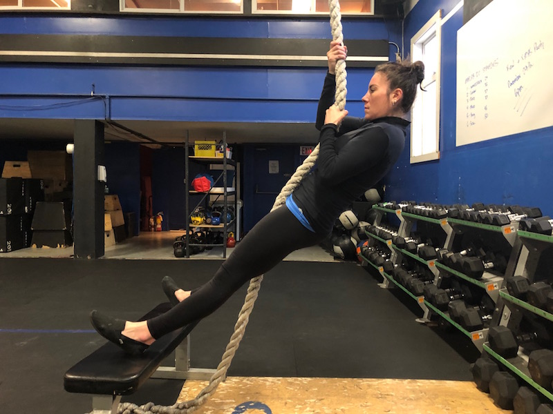 Scaled Rope Climbs