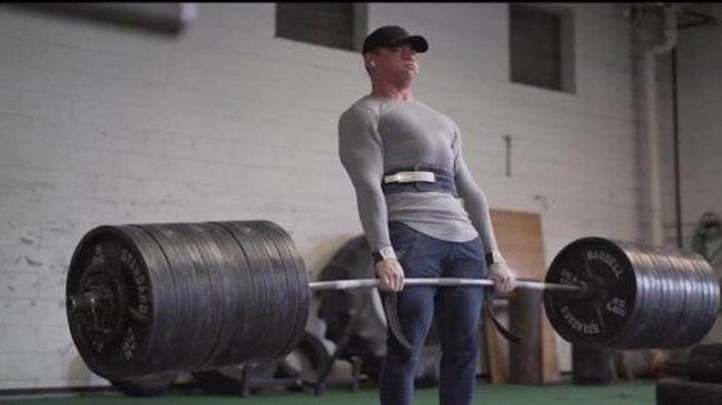 19 year old powerlifter Shane Nutt