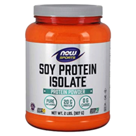 NOW Sports Soy Protein Isolate Powder