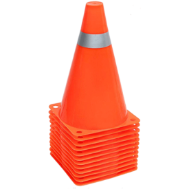 Traffic Cones Soccer Drills Sport Training Cones
