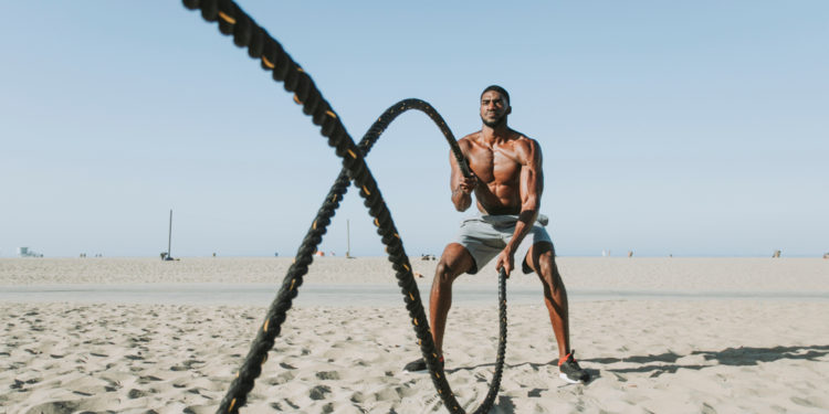 battle ropes beach