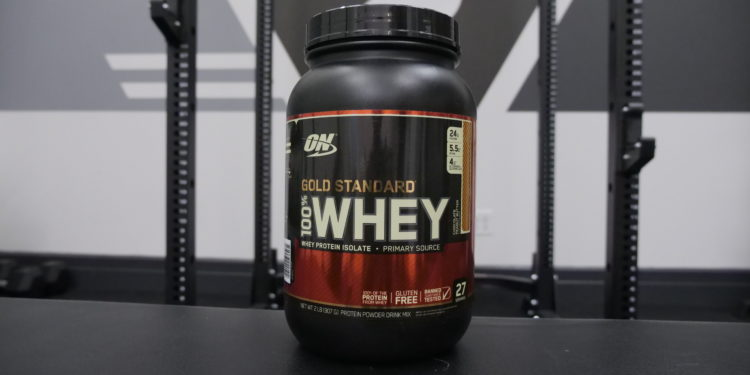 Optimum Nutrition Gold Standard Whey chocolate peanut butter flavor
