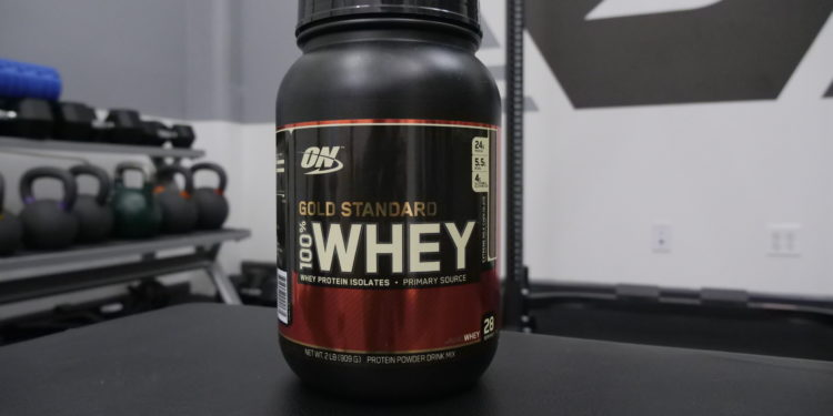 Optimum Nutrition Gold Standard Whey extreme milk chocolate flavor