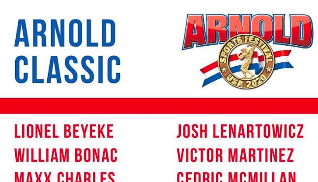 arnold classic ohio 2020