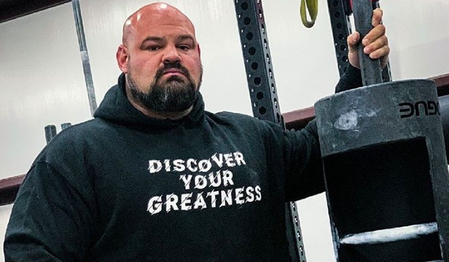 Brian Shaw Trains with Log Press in New YouTube Video