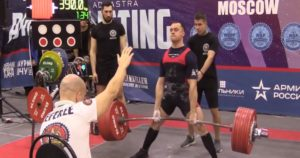 Russian Powerlifter Dmitry Nasonov