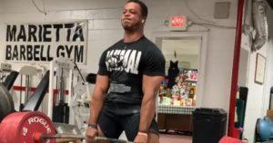 Powerlifter Jamal Browner
