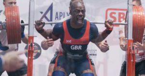 British powerlifter Sam Watt