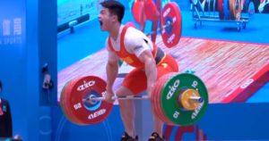 Chinese Weightlifter Shi Zhiyong