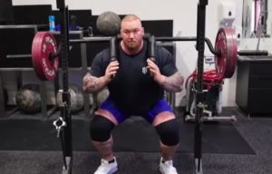 Thor Bjornsson Squat