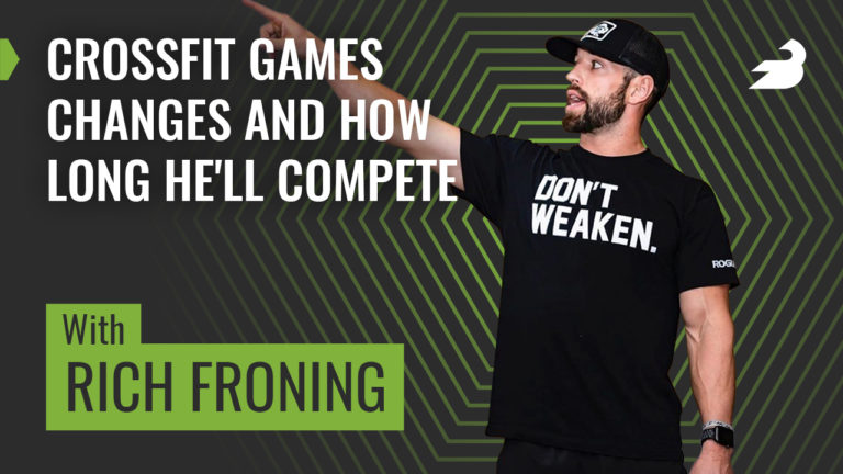 Rich Froning BarBend Podcast
