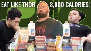 Hafthor Eating Challenge