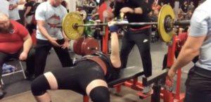 Jay Bonilla Powerlifting Meet