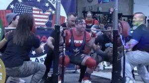 John Haack Powerlifting World Record Total