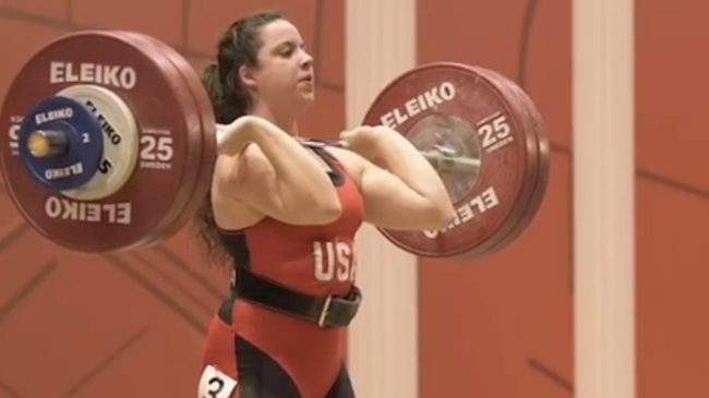 Meredith Alwine Weightlifting World Cup