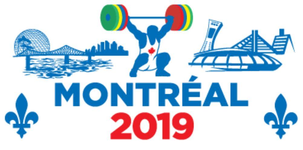 Montreal 2019 IWF Masters World Championship
