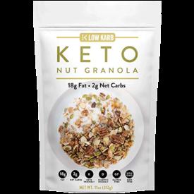 Low Karb Keto Nut Granola