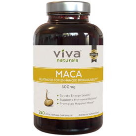 Viva Naturals Organic Maca Root Capsules