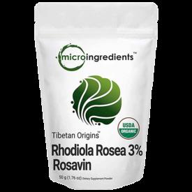 Micro Ingredients Pure Organic Rhodiola Rosea