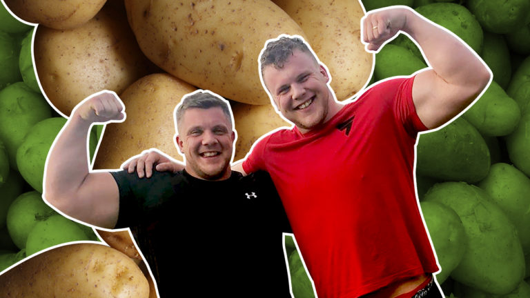 The Stoltman Brothers Explain Their Unusual Strongman Diet