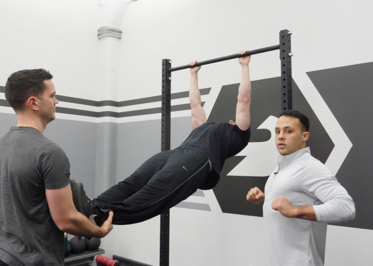 Assisted Pull-Up Variation